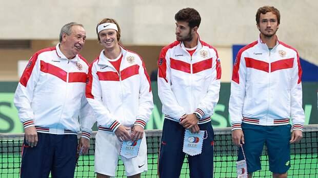 Три российских теннисиста впервые вистории вошли втоп-15 рейтинга ATP