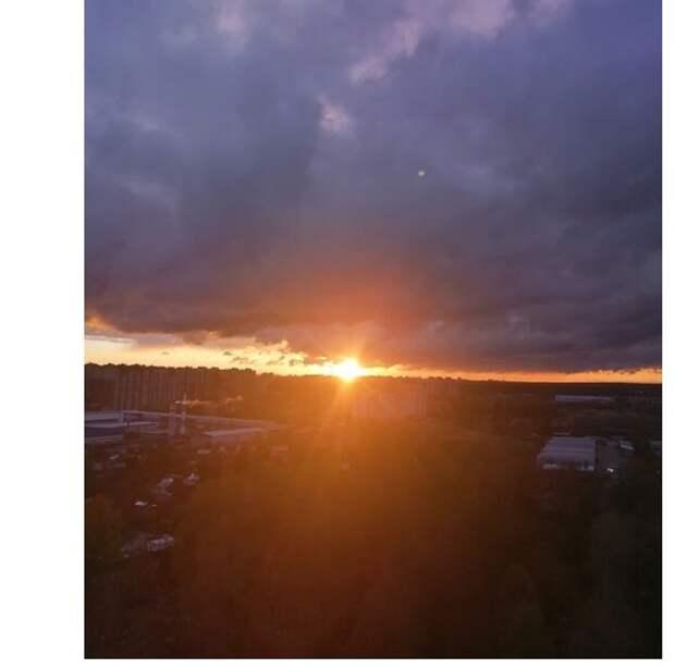 Фото дня: молжаниновские закаты