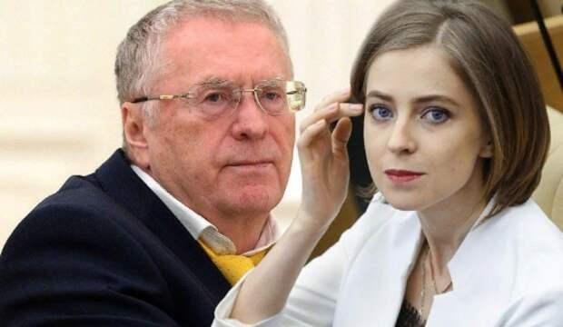 Поклонская поспорила с Жириновским из-за наказания за фейки