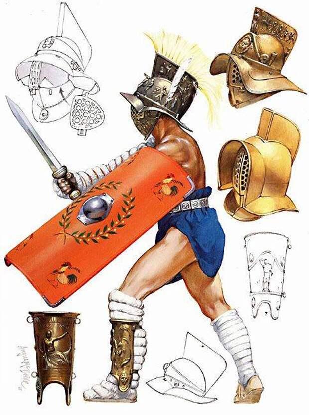 Гладиаторы... женщины!