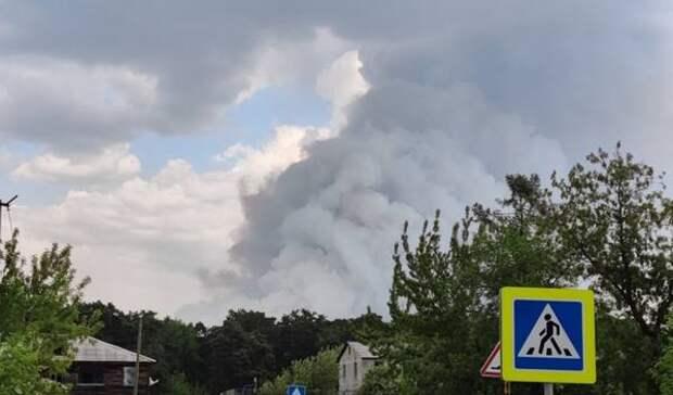 Лесные пожары уничтожили десятки домов под Тюменью