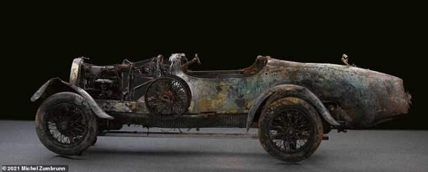 8. Bugatti T22 Brescia 1925 года