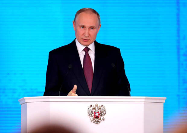 Владимир Путин, послание 2018(2018) Фото: kremlin.ru