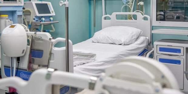 Собянин осмотрел строящийся лечебно-диагностический комплекс ИКБ №1