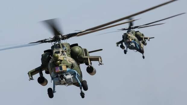 Ударный вертолет Ми-28НМ получил ракетное оружие нового поколения