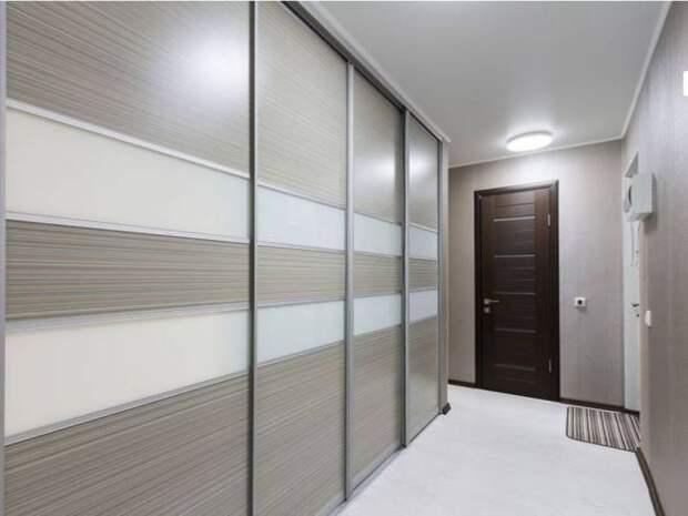 Встроенный шкаф-купе: стильное оформление скрытых систем хранения (90 фото)