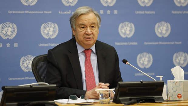 Гутерриш надеется на совместную работу ООН и России в поддержании мира