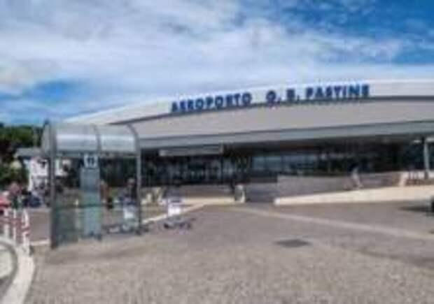 Аэропорт Чампино загорелся в Риме