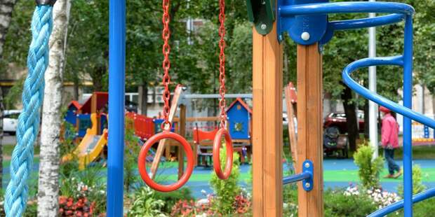 На 1-ой Напрудной благоустроят детскую площадку