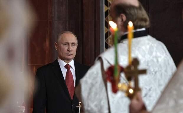 Владимир Путин обратился к православным