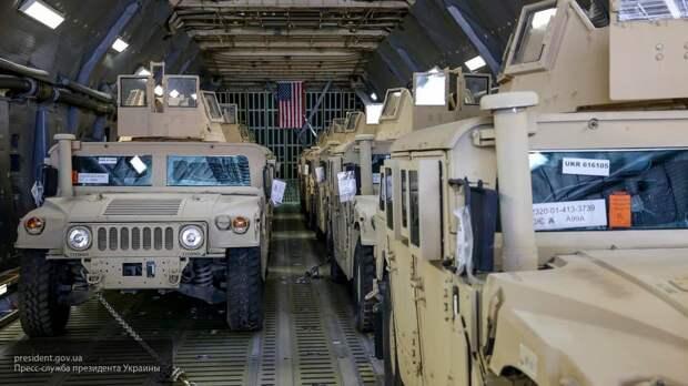 На репетиции парада в Луганске увидели подаренный Украине Humvee