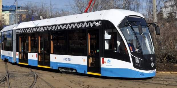 Ремонт путей трамвая №17 проходит на участке от  Проспекта Мира до улицы Бориса Галушкина