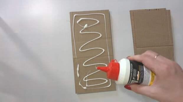 """Картинки по запросу """"Разрезав картонные коробки и склеивая их, вы получите поразительный результат"""""""""""