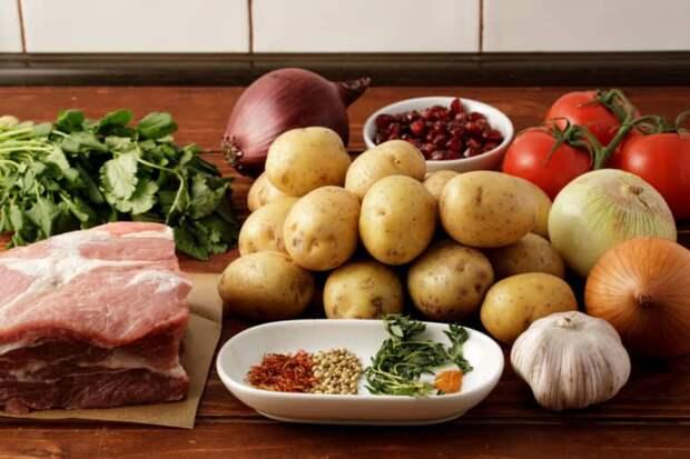 Оджахури – Жареное Мясо с Картофелем. Вкуснейшее Грузинское Блюдо для всей семьи