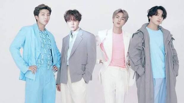 Участники k-pop группы BTS стали новыми амбассадорами Louis Vuitton