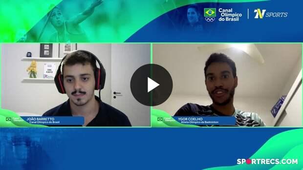 Bate-Pronto com o jogador de badminton Ygor Coelho (05/05/2021)