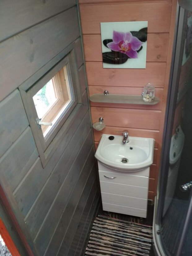 Классный самодельный душ на дачу