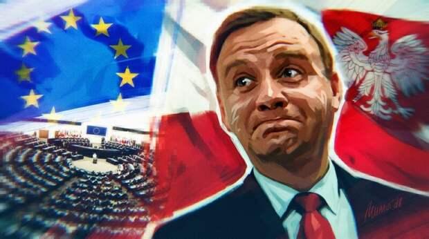 Политолог Носович рассказал, как Польша психанула на Россию из-за предательства Байдена