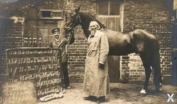 Вильгельм фон Остен с Гансом...