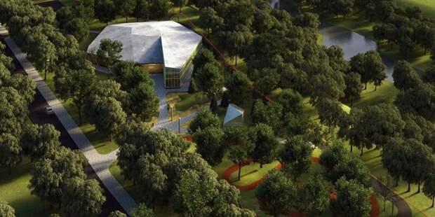 В парке «Яуза» появится уникальный экоцентр