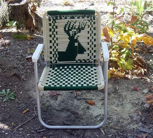 Тканные стулья