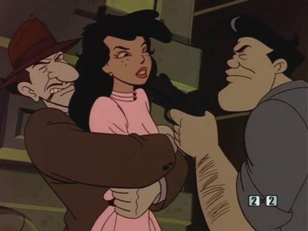 "Кадр из мультсериала ""Спайси Сити"" (1997)"