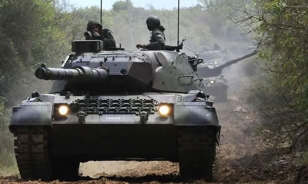 Бразилия продлевает «жизнь» танкам Leopard