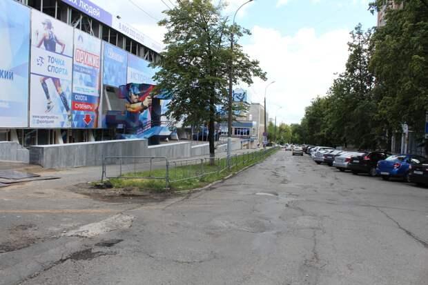 Ремонт дороги на улице Свободы в Ижевске начнется позже из-за плохой погоды