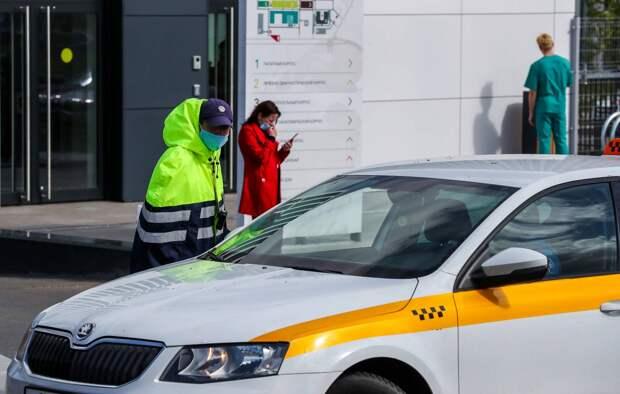 Власти Москвы заявили, что новые меры не коснутся такси и каршеринга