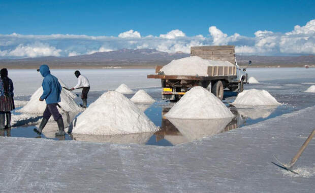 Самые соленые места Земли