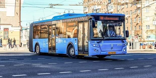 У автобуса м10 изменился номер маршрута