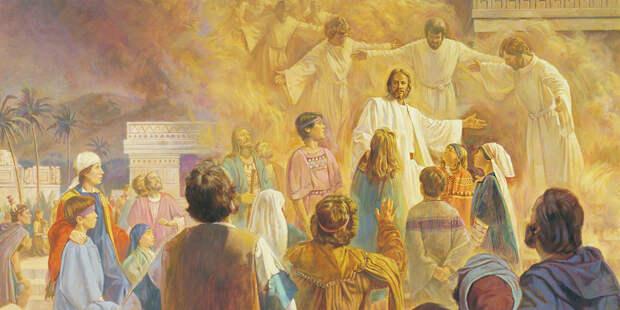 Притчи Иисуса: Притча о новой ткани и новых мехах