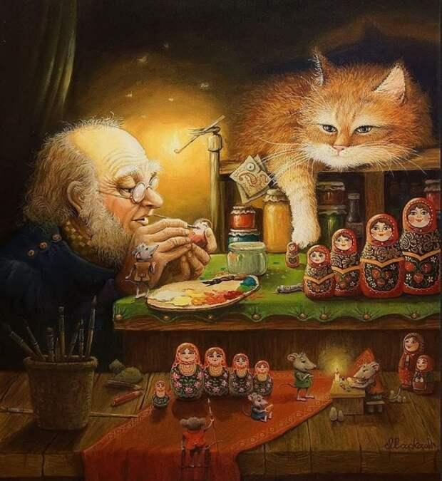 художник Александр Маскаев картины – 06