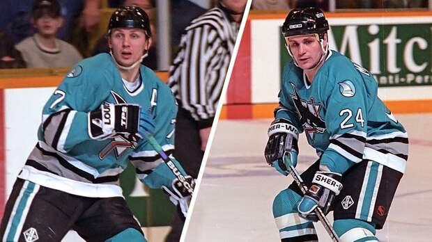 Легендарный гол русских хоккеистов Макарова иЛарионова вСША. В1994-м они перевернули серию против «Детройта»