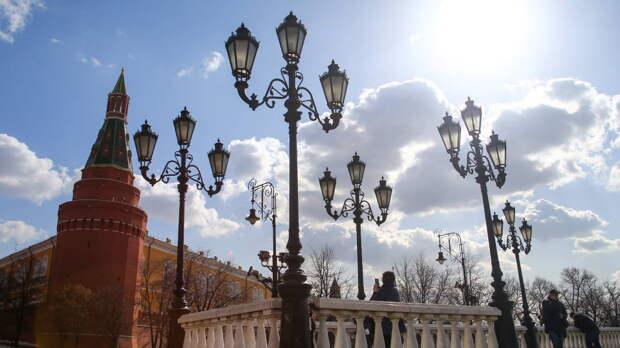 В Москве 19 апреля похолодает до +11°С