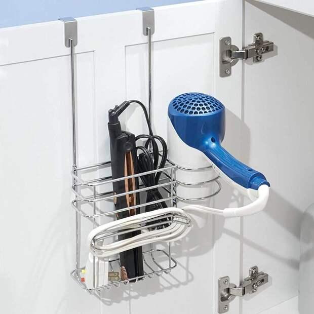 Отличная подборка идей для хранения в маленьких ванных комнатах