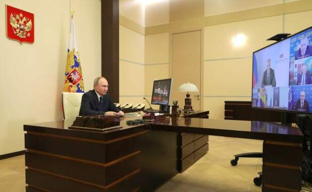 Путин: Нужно заранее подумать одействиях крупных IT-компаний