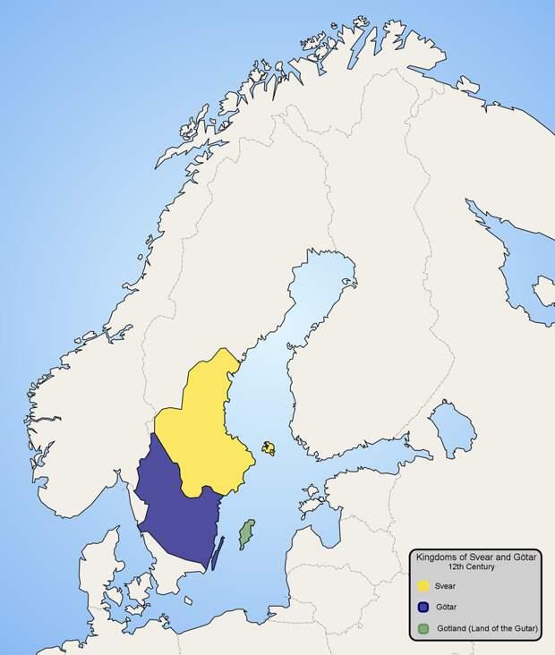 Не могло недогосударство Швеция породить государство Русь - (начало)