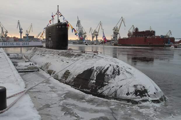 Подлодка «Ростов-на-Дону», утерянная радарами кораблей НАТО, остается на боевом дежурстве