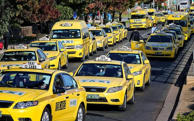 Выбор таксистов разных стран (у России опять особый путь)