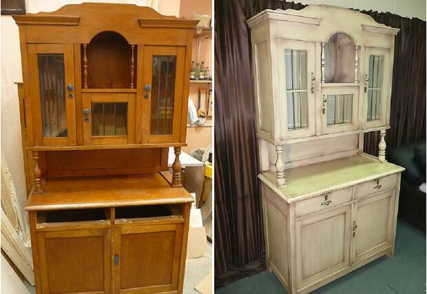 Добротную деревянную мебель можно самостоятельно сделать стильной и современной. | Фото: livemaster.ru.