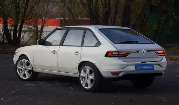Возрожденный «Москвич-2141» показали на рендерах