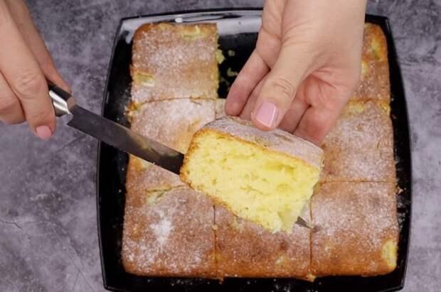Готовлю пирог «Для ленивых»: трачу 5 минут своего времени, а остальное делает духовка (очень люблю его летом)
