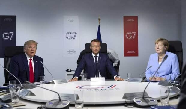 G7 и её разногласия: полное единодушие бывает только на кладбище
