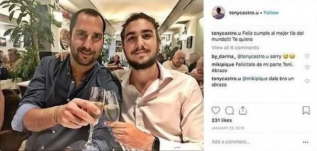Внук Фиделя Кастро озадачил пользователей сети буржуйскими замашками