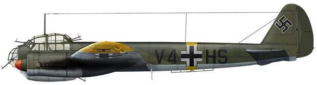 Реконструкция внешнего вида Ju 88A-5 с предыдущего фото (художник Игорь Злобин) - «Сталинские соколы», которые никуда не улетали   Warspot.ru