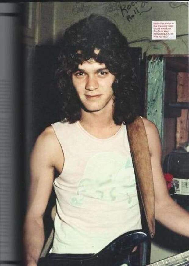 Эдди Ван Халлен в 70-80 годы