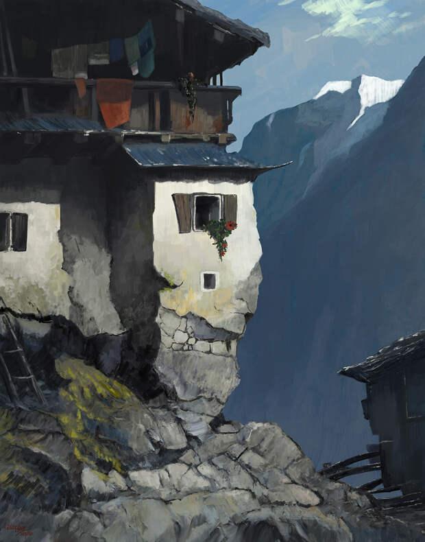 Гиоргос Цолис и его фантастическая жизнь в картинах