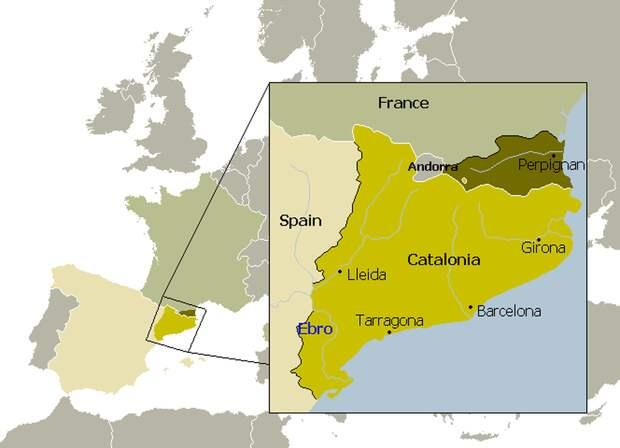 Раздел Каталонии по Пиренейскому миру 1659 года - Каталония: сепаратизм под сенью эстелады | Военно-исторический портал Warspot.ru