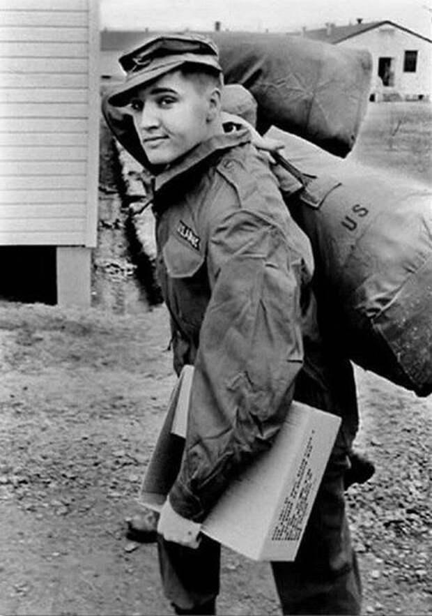 Элвис Пpecли в армии, 1958 год